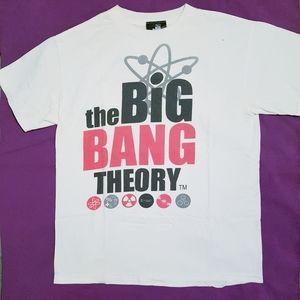 The Big Bang Theory Series Logo Tshirt